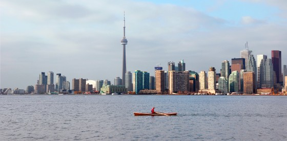Toronto skyline. Courtesy Wikimedia Commons.