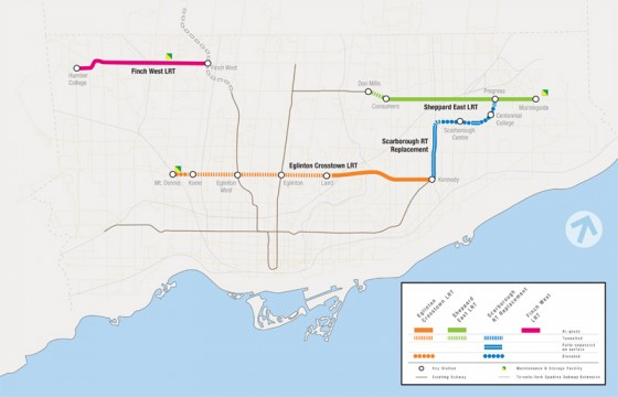 LRT Map - Credit: Metrolinx