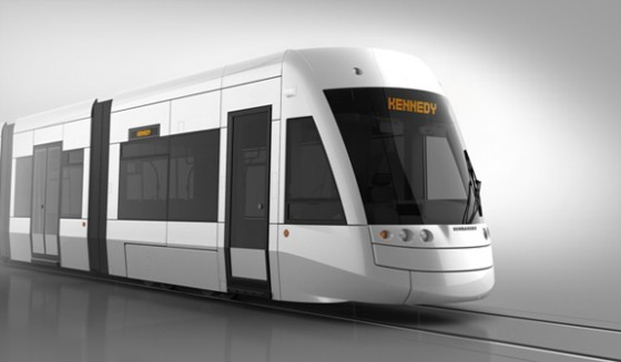 LRT Train - Photo Credit: Metrolinx