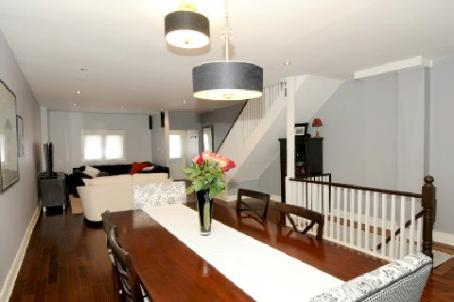 Townhomes Under 520k - 238 Greenwood Ave., Toronto - living 1