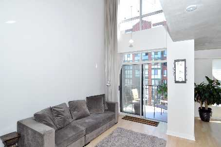 Toronto Real Estate - Apt. 807 - 800 King St. W - living 2